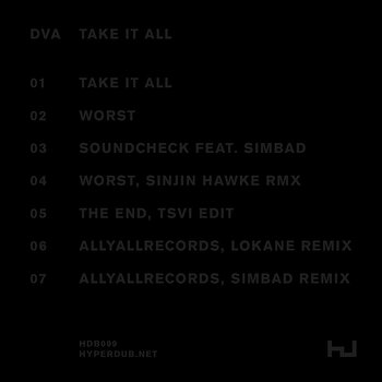 Cover art - DVA: Take It All EP