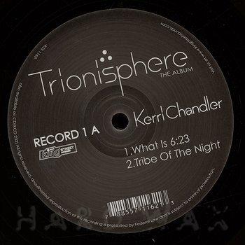 Cover art - Kerri Chandler: Trionisphere