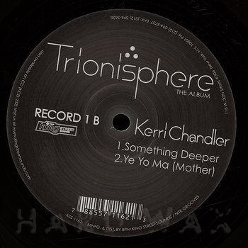 Cover art - Kerri Chandler: Trionisphere