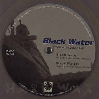 Cover art - Octave One: Black Water
