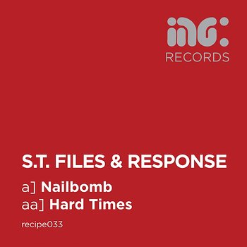 Cover art - S.T. Files & Response: Nailbomb