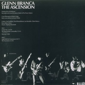 Cover art - Glenn Branca: The Ascension