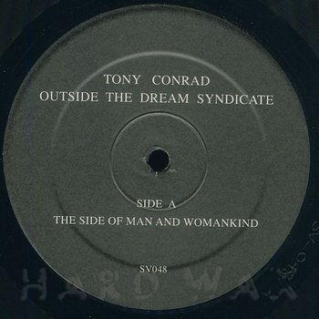 Cover art - Tony Conrad With Faust: Outside The Dream Syndicate