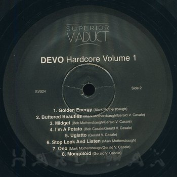 Cover art - Devo: Hardcore Vol. 1