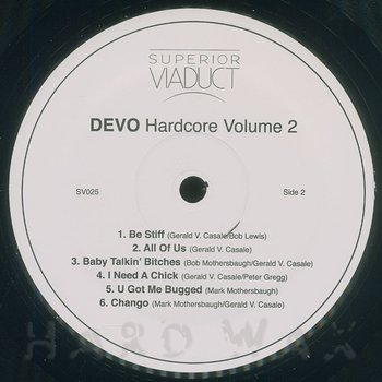 Cover art - Devo: Hardcore Vol. 2