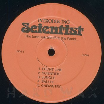 Cover art - Scientist: Introducing Scientist - The Best Dub Album In The World...