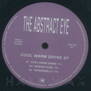 Cover art - The Abstract Eye: Cool Warm Divine EP