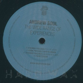Cover art - Andrew Soul: The Wide Range Of Experiences EP