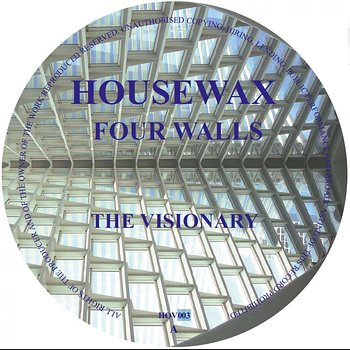 Cover art - Four Walls: The Visionary