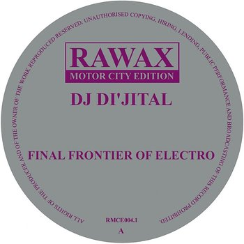 Cover art - DJ Di'jital: Final Frontier Of Electro