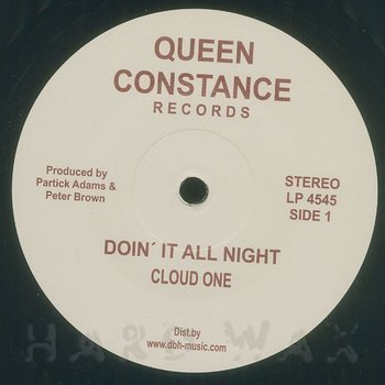 Cover art - Cloud One: Doin' It All Night