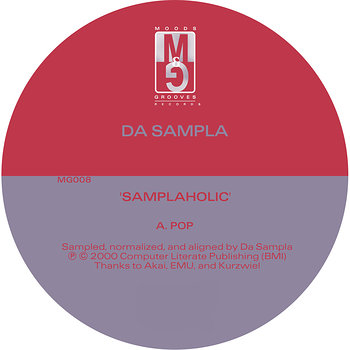 Cover art - Da Sampla: Samplaholic