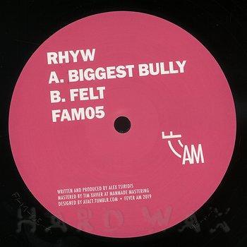 Cover art - Rhyw: Biggest Bully / Felt