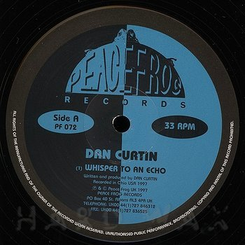 Dan Curtin: Whisper To An Echo - Hard Wax
