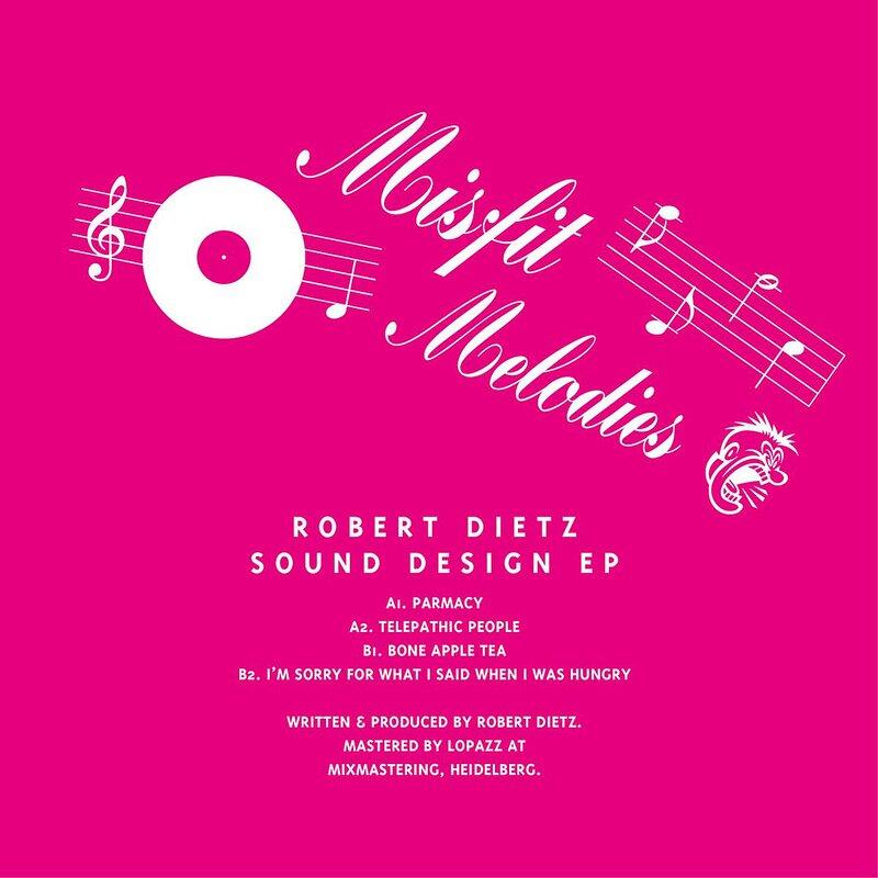 Cover art - Robert Dietz: Sound Design EP