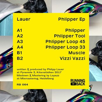 Cover art - Lauer: Phlipper EP