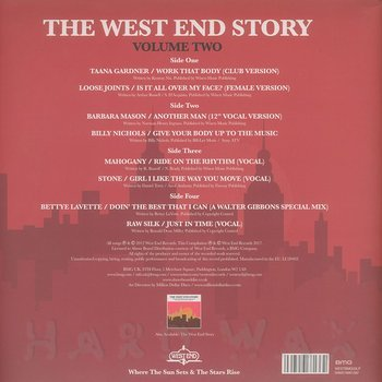 Cover art - Various Artists: The West End Story Vol. 2