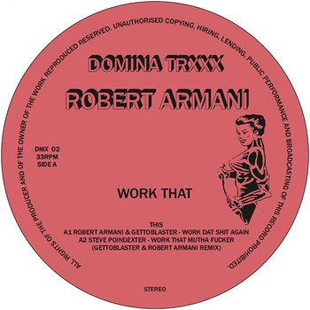 Cover art - Robert Armani: Work That