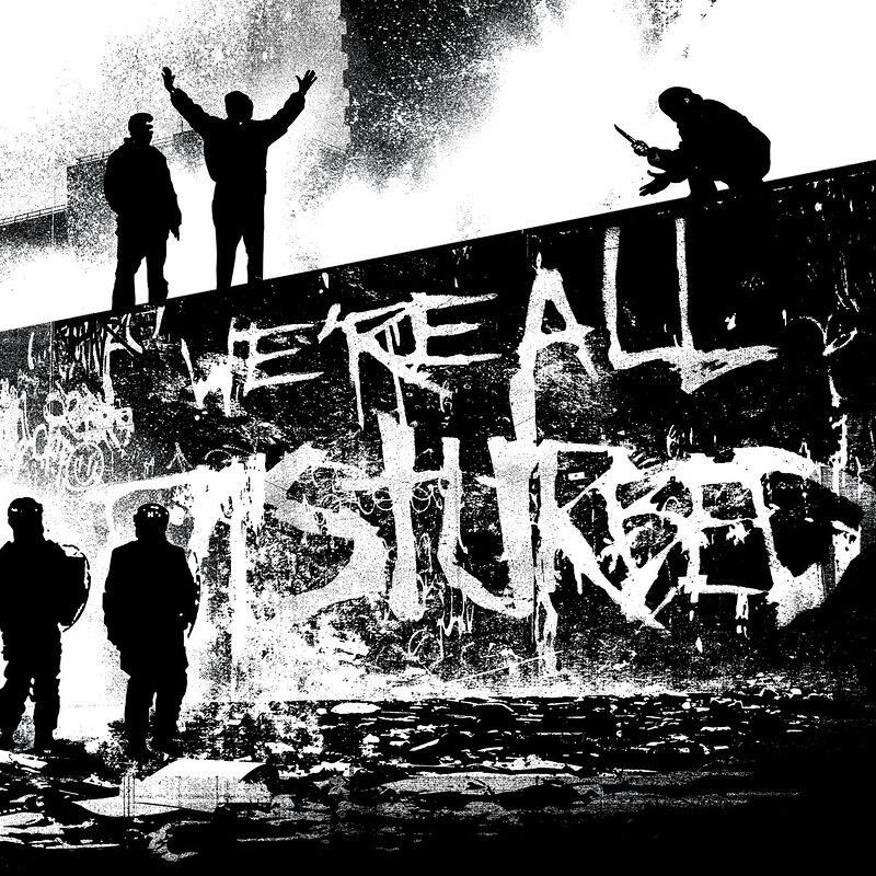 Cover art - Response & Pliskin: We're All Disturbed