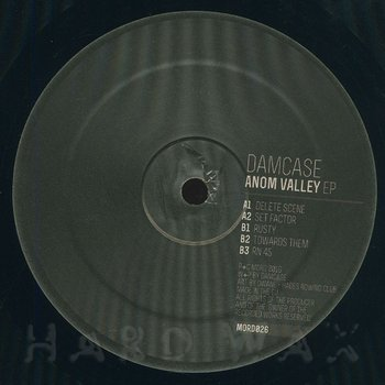 Cover art - Damcase: Anom Valley EP