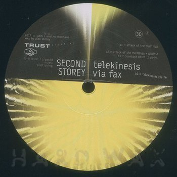 Cover art - Second Storey: Telekinesis Via Fax