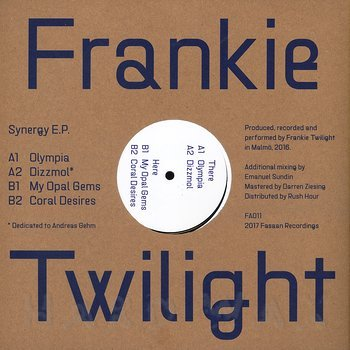 Cover art - Frankie Twilight: Synergy EP