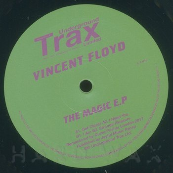 Cover art - Vincent Floyd: The Magic EP