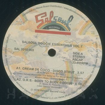 Cover art - Various Artists: Salsoul Boogie Essentials vol. 1