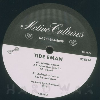 Cover art - Tide Eman: Animate Objects EP