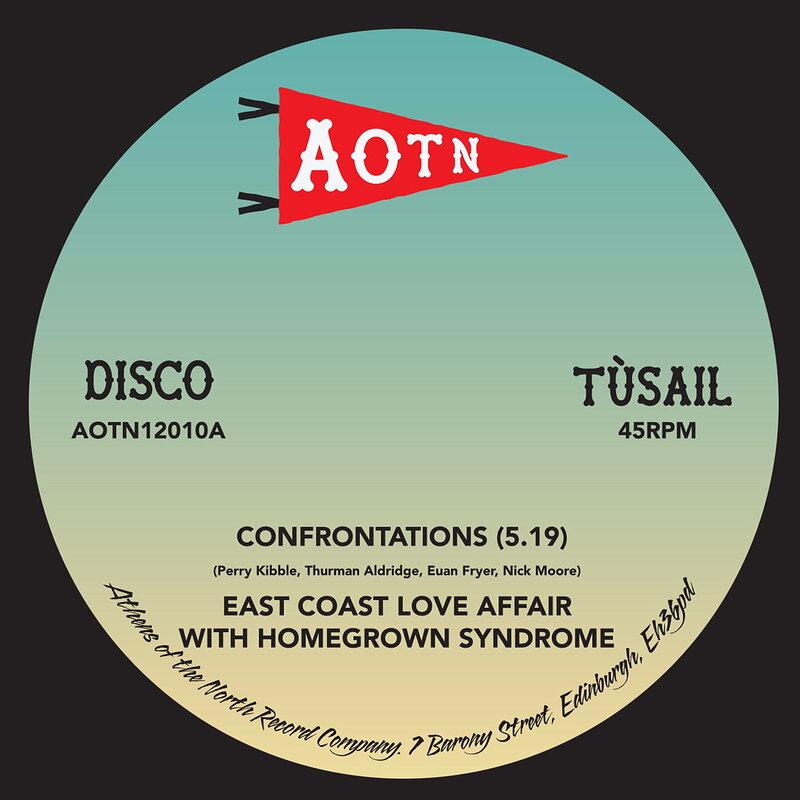 Cover art - East Coast Love Affair: Confrontations