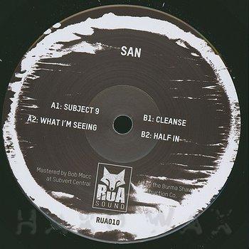 Cover art - San: Subject 9 EP