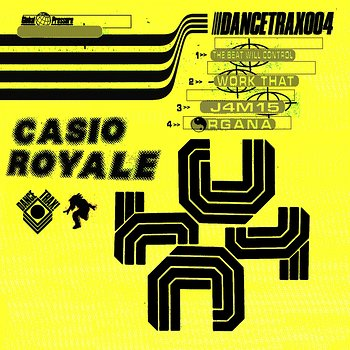 Cover art - Casio Royale: The Beat Will Control