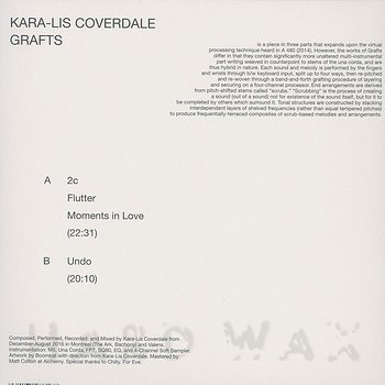 Cover art - Kara-Lis Coverdale: Grafts
