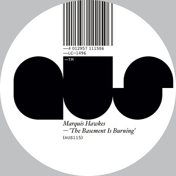 Cover art - Marquis Hawkes: The Basement Is Burning