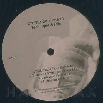 Cover art - Crème De Hassan: Technique & Rite