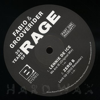 Cover art - Various Artists: Fabio & Grooverider - 30 Years of Rage Part 1