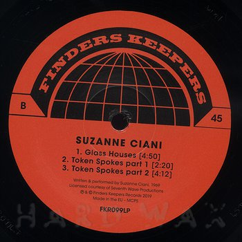 Cover art - Suzanne Ciani: Flowers Of Evil