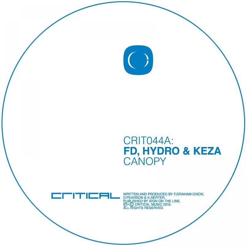 Cover art - FD, Hydro & Keta: Canopy