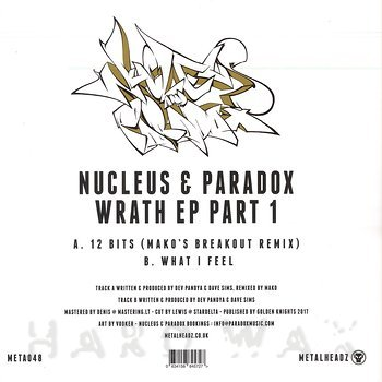 Cover art - Nucleus & Paradox: Wrath Part 1