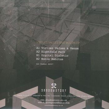 Cover art - Paul Mac & Figure-Ground: Virtues, Values & Venom EP