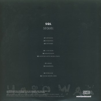 Cover art - SQL: Sequel