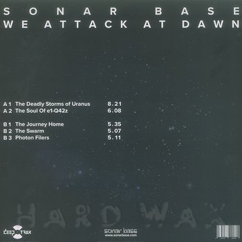 Sonar Base: Dark Matter Transmissions #3: We Attack At Dawn