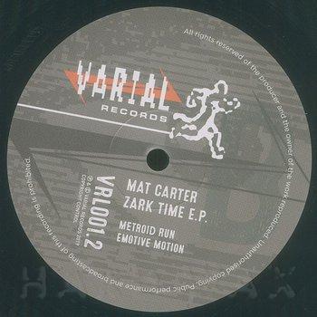 Cover art - Mat Carter: Zark Time EP