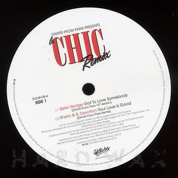 Cover art - Sister Sledge / Sheila & B. Devotion: Got To Love Somebody / Your Love Is So Good (Dimitri From Paris Mixes)