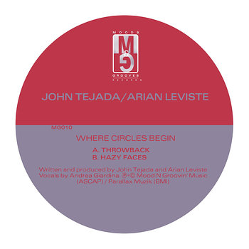 Cover art - John Tejada & Arian Leviste: Where Circles Begin