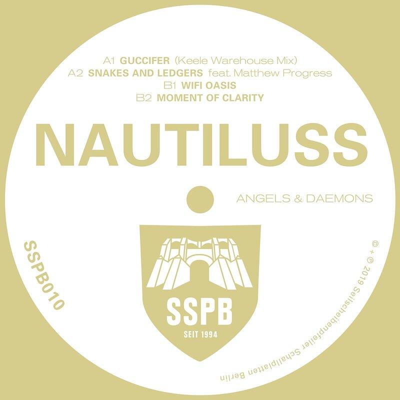 Cover art - Nautiluss: Angels & Daemons