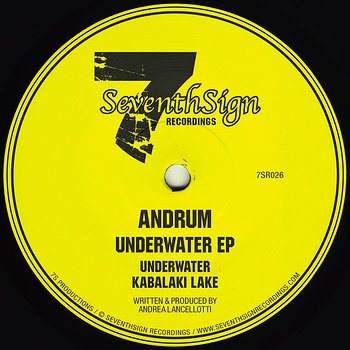 Cover art - Andrum: Underwater EP