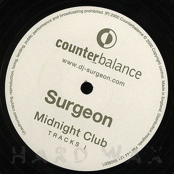 Cover art - Surgeon: Midnight Club Tracks