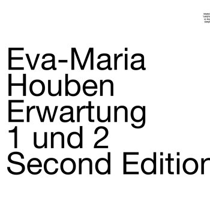 Cover art - Eva-Maria Houben: Erwartung 1 und 2