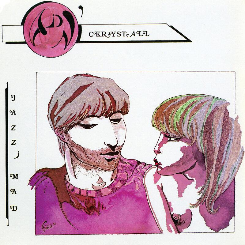 Cover art - ADN' Ckrystall: Jazz' Mad